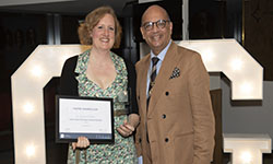 Dr Susanna Petche, Outstanding Teaching in General Practice with Professor Mayur Lakhani
