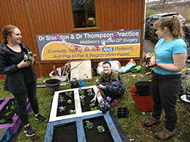 Gardening for the community at Manchester