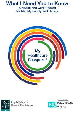 Image of the My Healthcare Passport report cover
