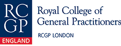 This is the RCGP London logo