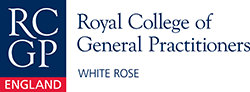 This is the RCGP White logo