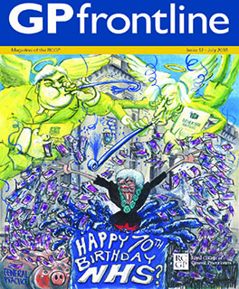 GP frontline front cover