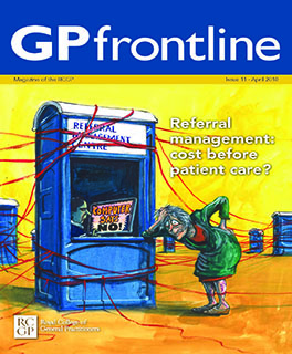 GP Frontline cover