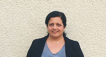 Dr Kavita Karma - North Wales First5 representative