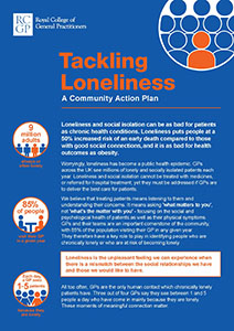 Tackling Loneliness manifesto England front cover
