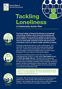 Tackling Loneliness manifesto Scotland front cover