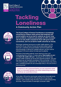 Tackling Loneliness manifesto Wales front cover