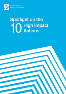 Spotlight on the 10 High Impact Actions