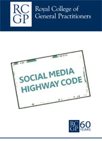 Cover image of the RCGP Social Media Highway Code PDF