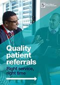 Quality patient referrals front cover
