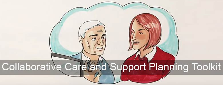 Animation produced by the RCGP explaining Collaborative care and support planning toolkit