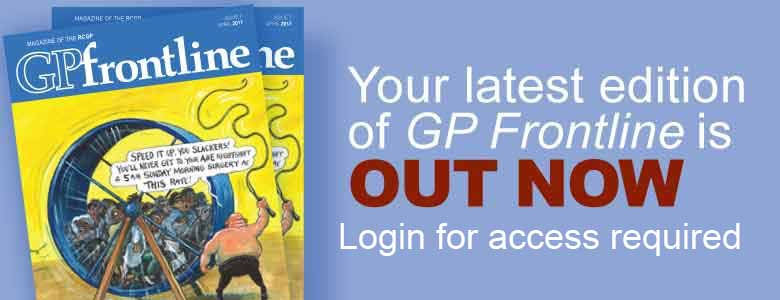 The April edition of GP Frontline is now available to read online