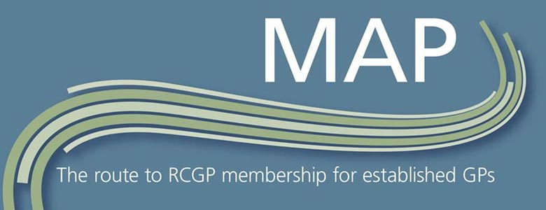 This image is used as a link to the Membership by Assessment and Performance (MAP) page for GPs