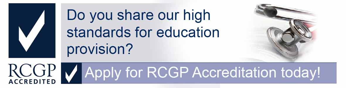 RCGP Accreditation Provider Focused Slider
