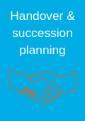 Handover and succession planning