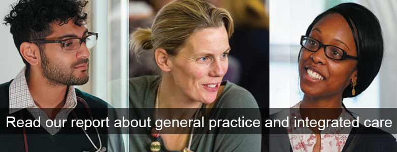 RCGP report about general practive and integated care